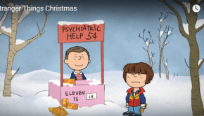 stranger things christmas eleven
