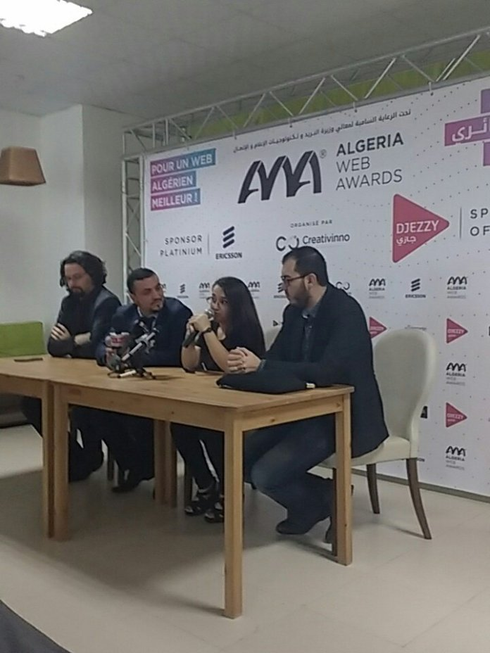 Au programme d'Algeria Web Awards 2016