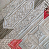 Choosing a Quilt Design: Secondary designs on the Ruby Roads Quilt