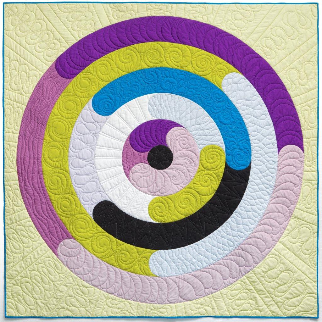 Orbital quilt pattern by Geeky Bobbin