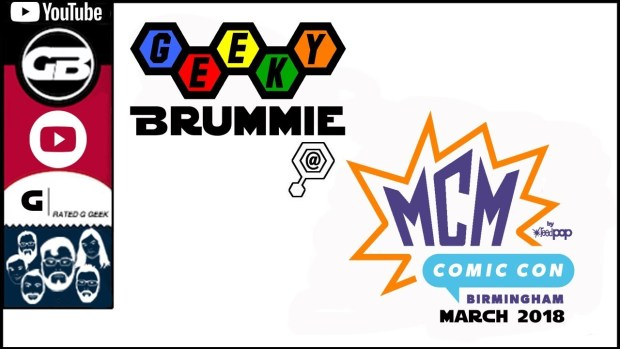 MCM Comic Con March 2018