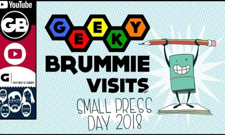 Geeky Brummie at Small Press Day 2018