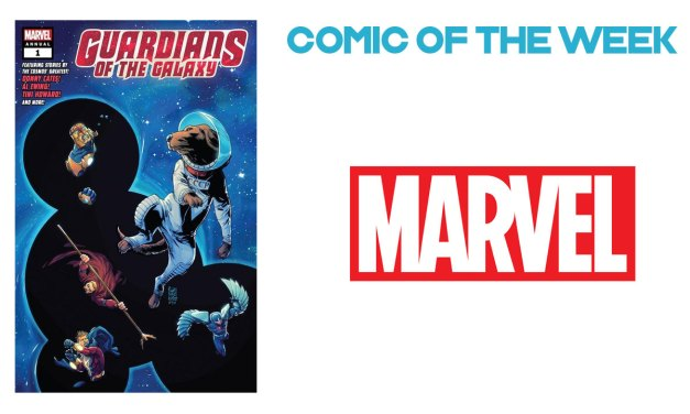 Guardians of the Galaxy Annual #NCBD 5th June 2019
