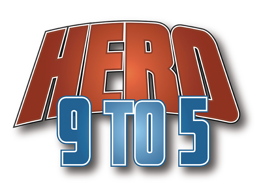 Hero 9 to 5 logo