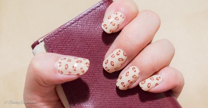 Incoco Coconut Nails: Leopard Print