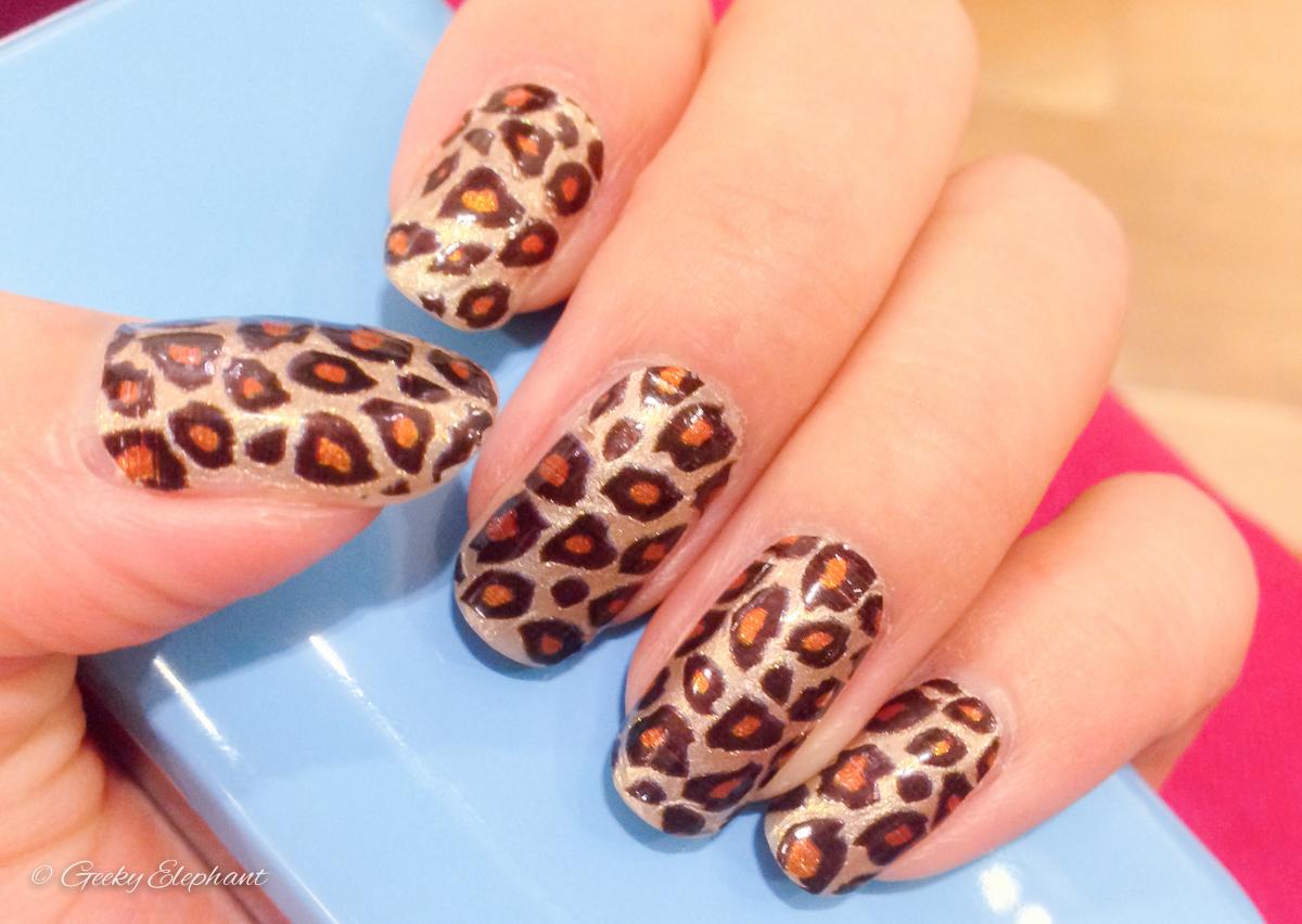 Sephora Nail Polish Strips: Leopard Print — Geeky Elephant