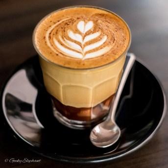 One Man Coffee Cafe: Mocha