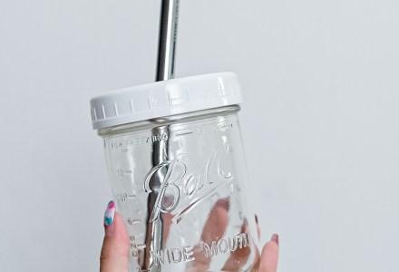 Bubble Tea Mason Jar Lid Wide-Mouth_4593