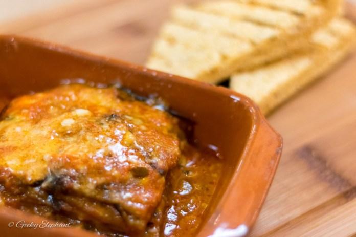 Ricciotti Pizza Pasta Grill: Eggplant Parmigiana