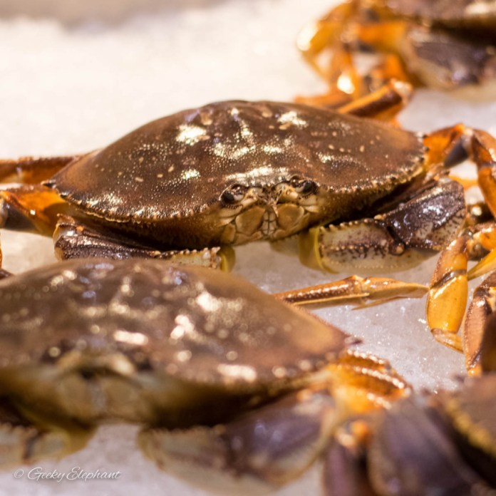 Oceans of Seafood: Fresh Crabs
