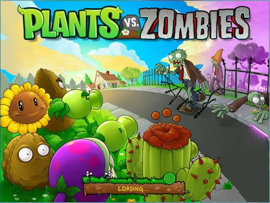 Plants vs. Zombies Intro