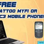 Get Free Globe Tattoo MyFi or Nokia C3 Mobile Phone