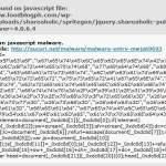 Malware Targets Javascript Files on WordPress Plugins
