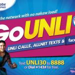 Globe Offers Unbeatable Prepaid Go Unli