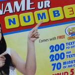 Sun Cellular's Name Your Number Sim