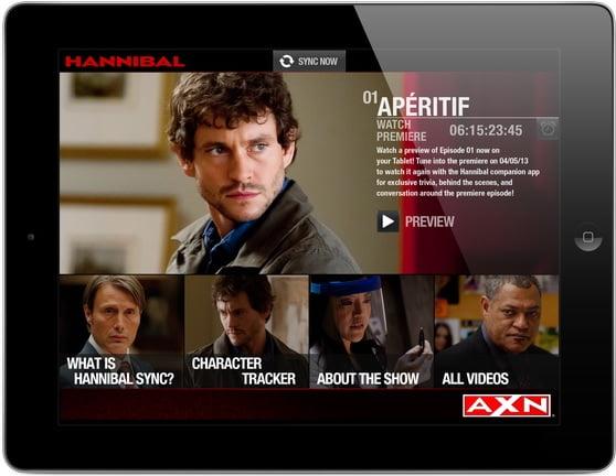 Hannibal Screen App