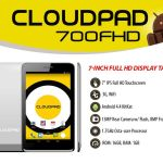 CloudPad 700FHD: CloudFone's first full HD tablet