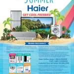 Haier is Chillin' Summer until June 30!