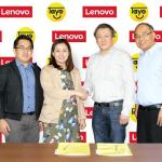 Lenovo and TAYO Awards foundation strike partnership deal