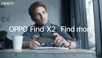 OPPO Find X2 Eddie Redmayne