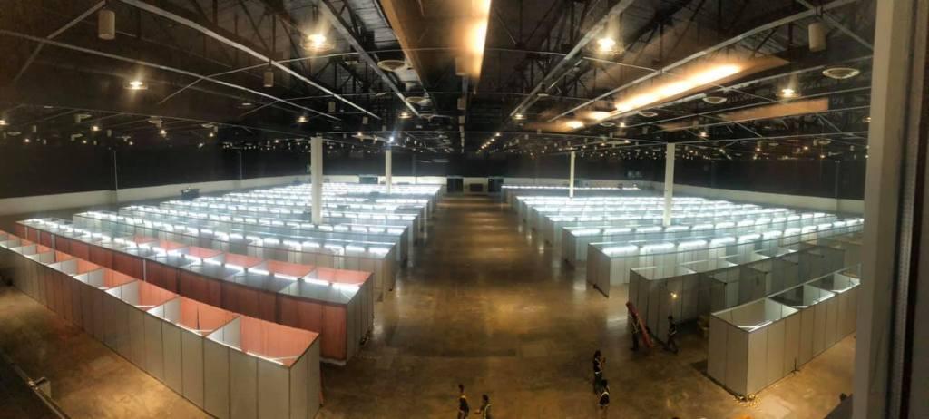 Philippine International Convention Center: Quarantine Facilities Covid-19
