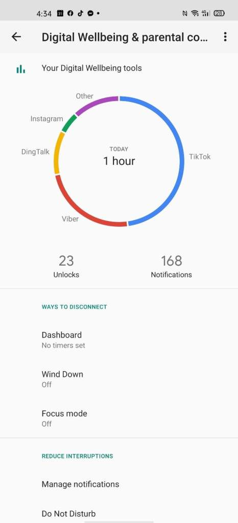 OPPO ColorOS 7 Features Digital Wellbeing Parental Control