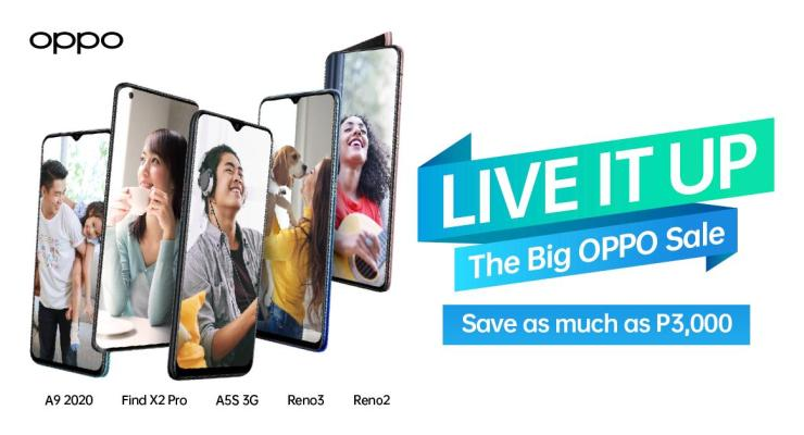 Big OPPO Sale Live It Up Promo 2020