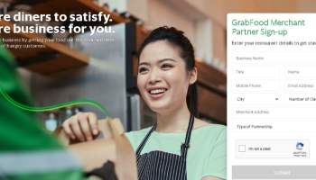 Grab Merchant for Small Business ownsers