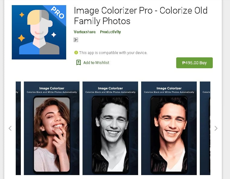 Image Colorizer App - Android Pro version