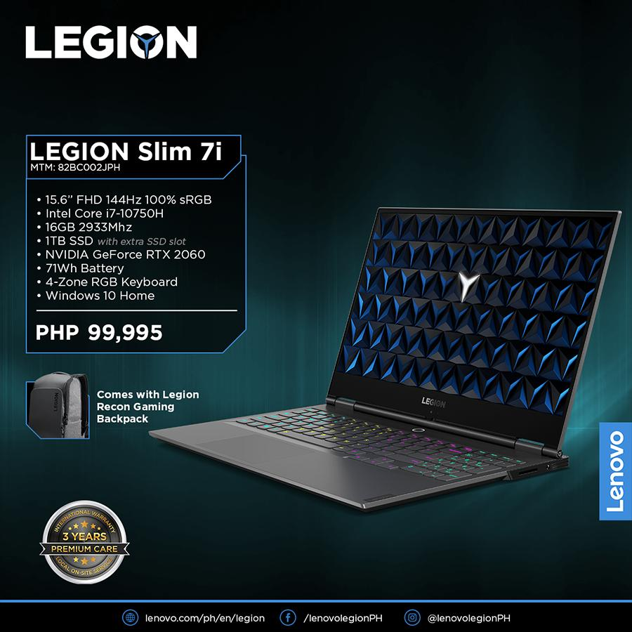 Lenovo Legion Slim 7i Priced