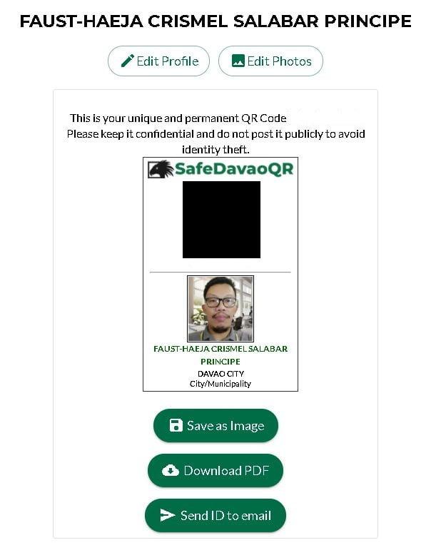 QR Code ID