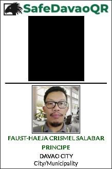 Safe Davao QR ID