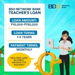 Teacher Salary Loan - BDO Network Bank