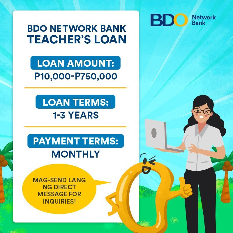 Teacher Salary Loan - BDO Network Bank