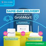 Grabmart Globe fast internet