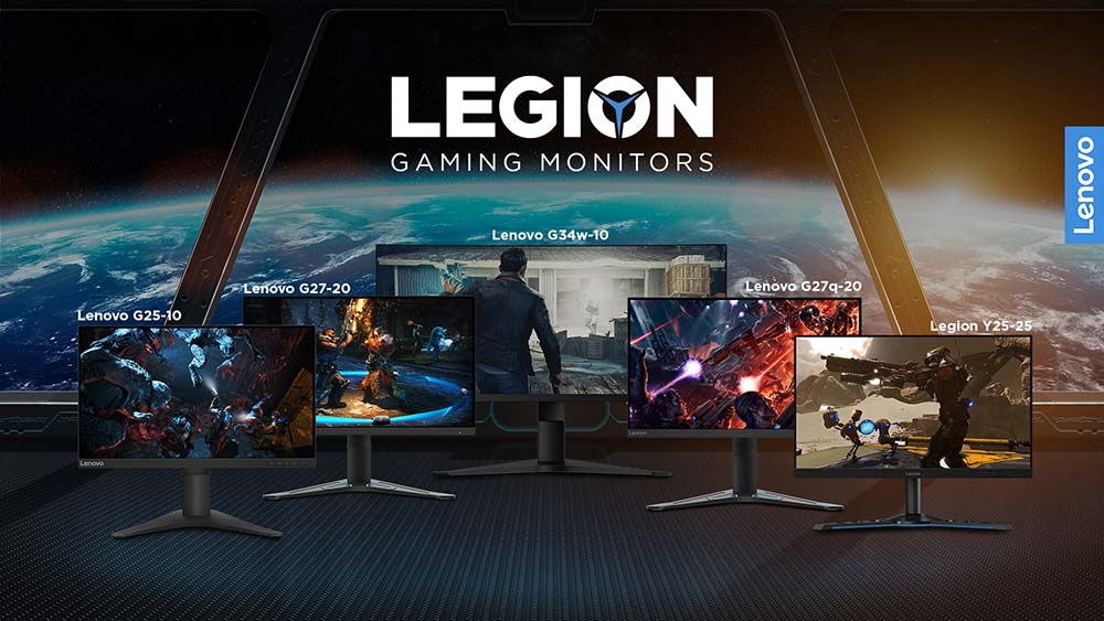 Lenovo Legion Gaming Monitors