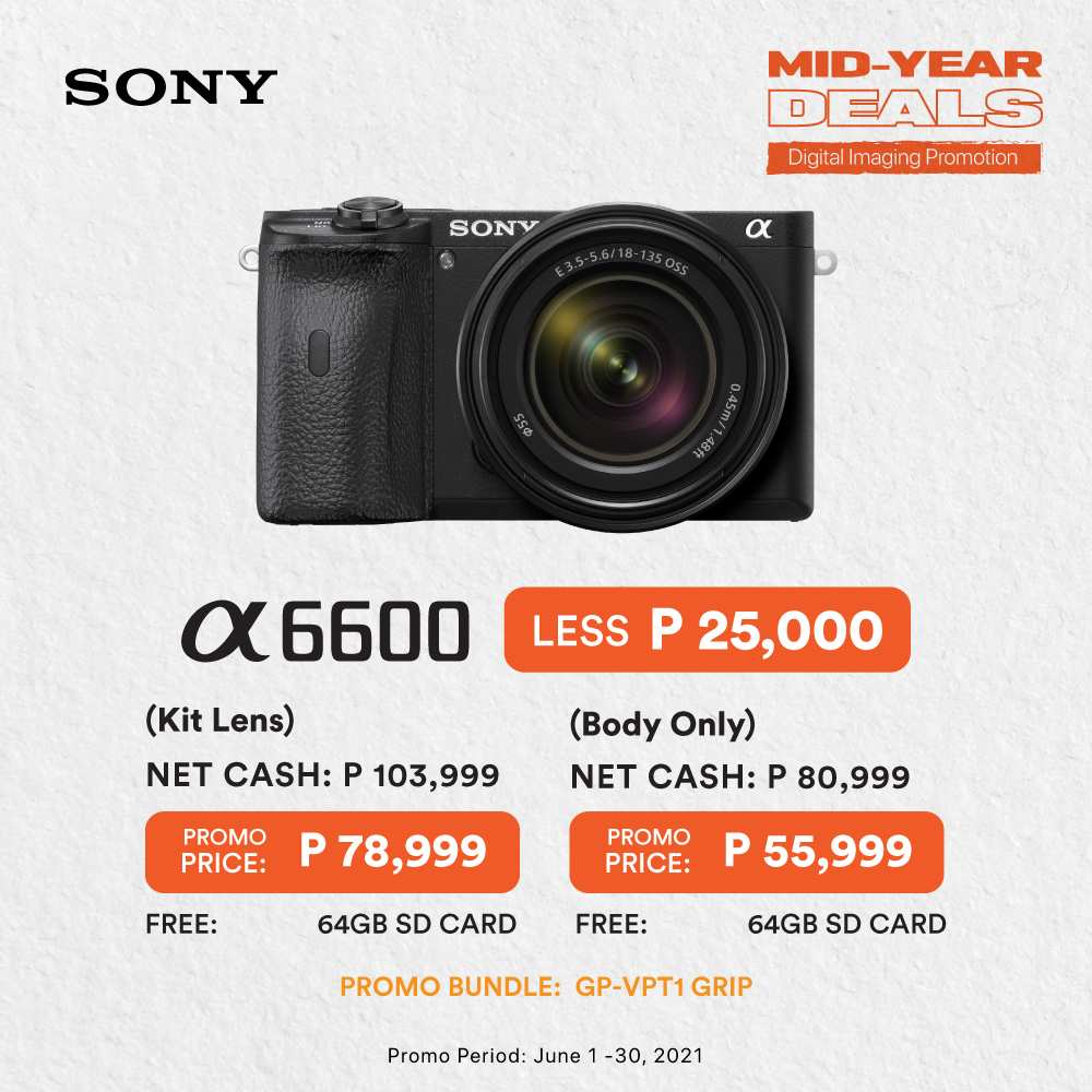 Sony Mid-Year Deals - A6600