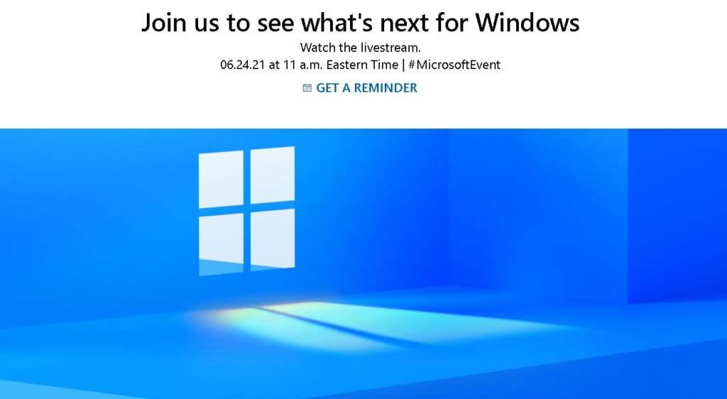Windows 11 June 24 Launch