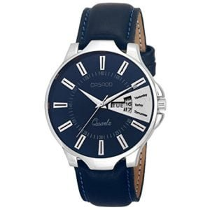 Casado Analog Blue Dial Men's Watch - Casado Blue Day And Date Watch 192, men's watch under rs 500 india