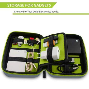 Gadget Organiser Bag for travellers india, Tizum Gadget Organiser Bag (Gray)