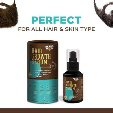 Beardhood Beard and Hair Growth Serum, best beard and mustache growth oil in india