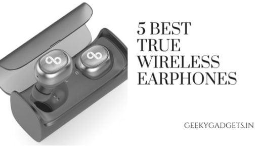 5 BEST TRUE WIRELESS EARPHONES