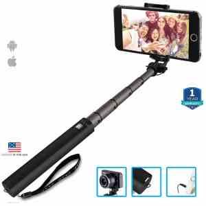 Zaap Nustar4 Extendable Aluminium Monopod Battery Free In-Built Remote Shutter Selfie Stick