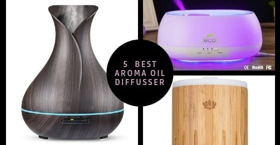Top 5 Best Aroma Diffusers to Buy Online in India