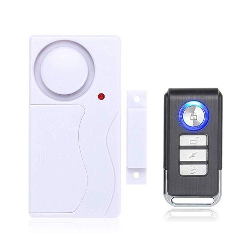 Wireless Home Door Window Burglar Alarm DIY Safety Security Alarm System Magnetic Sensor with Remote Control