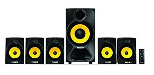 Philips Heart Beat SPA-3800B 5.1 Channel Home Theatre System