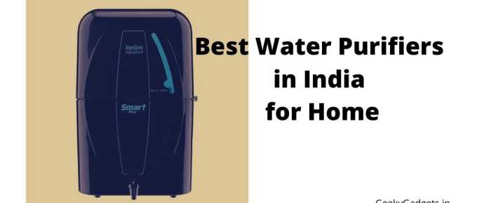 Best Water Purifiers in India for Home