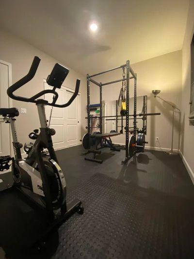 Home Gym Set up