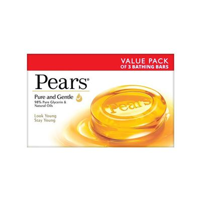 Pears Pure And Gentle Soap Bar Review 1