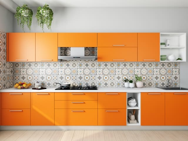 What is a modular kitchen?
